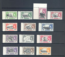 ST HELENA  SG153-165 1953  DEFINITIVE SET OF 13 COMPLETE MNH