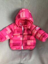 Adidas nourrisson filles enfants veste gilet bébé enfants body warmer gilet-rose