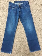 Hollister Men's Jeans Balboa Classic Straight 28x30 Medium Light Wash Button Fly