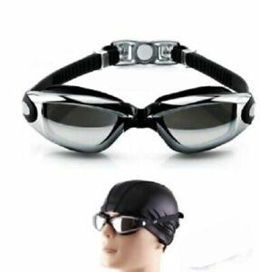 Prescription Anti-fog Swimming Goggles Adjustable -2 to -8 AUS Stock