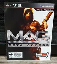 2009 MAG Original Promo Beta Access DLC Code Voucher - Sony PS3