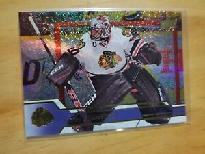 Corey Crawford 2016-17 Upper Deck Gold Rainbow Foil #290 E-Pack Exclusives SP!