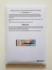 MS Windows Server 2012 r2 standard 64 bits DVD IBM Lenovo rok MUI Deutsch English