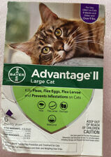 Advantage II for Large Cats over 9 lbs, 6 Doses EPA Approved Free Shipping