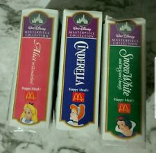 3 figures Disney masterpieces collection from 1995