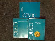 1996 1997 1998 HONDA CIVIC MODELS Service Shop Repair Manual W ETM + Supplement