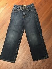 Boys Old Navy Straight Cut Regular Fit Adjustable Jeans Size 7