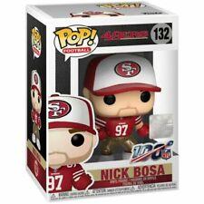 Funko Pop! NFL San Francisco 49ers Nick Bosa (Home) #132 Rare Damaged Boxes