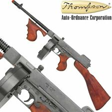 Authentic Thompson Tommy Rifle  M1928 Gangster's Non-Firing Prop Gun