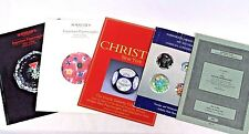 Five SOTHEBYS and CHRISTIES Paperweight AUCTION Catalogs