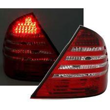2 FEUX ARRIERE LED MERCEDES CLASSE E W211 2/2002 A 6/2006 BLANC ROUGE CRISTAL