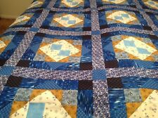 King size Prussian Blue Quilt