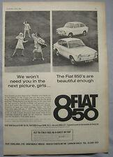 1966 Fiat 850 Original advert No.1