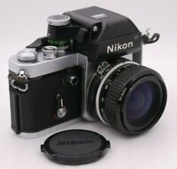 [Near Mint-] NIKON F2 Photomic SN 7284639 DP-1 + AI NIKKOR 28mm F2.8 From Japan