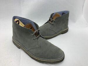 Clarks Originals X Herschel Suede Desert Chukka Boots Men Size 11- Gray
