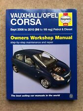 Vauxhall/Opel Corsa Service and Repair Manual by Haynes (Paperback)