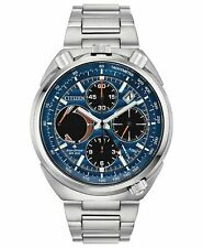 Citizen Men's Eco-Drive Tsuno Chronograph Stainless Steel Watch AV0070-57L
