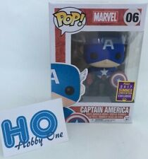 Funko POP -  Marvel - Captain America [ Bobble Head ] - EXLU - N° 06 - NEUF