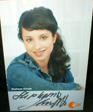 Stephanie Stumph, Autogramm, original signiert!
