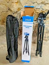 3520 Lightweight plastic Tripod Camera with plate