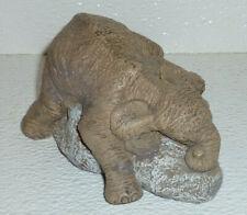 The Herd Elephant WINKS MIDDAY Martha Carey NO BOX Vtg Marty Sculptures Figurine