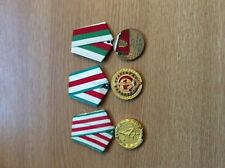 Bulgarian medal Group 20, 25, 30 Years Agencies of MVR /the Internal Ministry