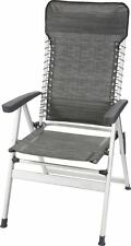 KERRY LIGHTWEIGHT ALUMINIUM SUSPENCSION CAMPING CHAIR CARBON (GREY)