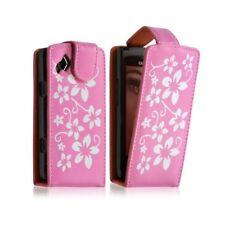 Housse étui coque pour Samsung Wave II S8530 couleur rose + Film de protection