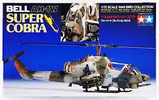 Tamiya 60708 BELL AH-1W Super Cobra 1/72 Scale Plastic Model Kit