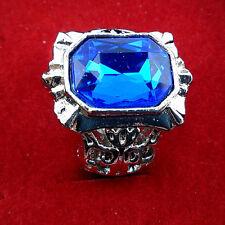 Black Butler Kuroshitsuji Ciel Phantomhive Cosplay Sapphire Ring Blue