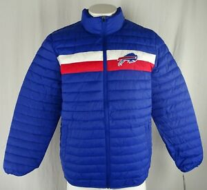 Buffalo Bills NFL Apparel Men's Full-Zip Puffer Jacket