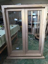 Solid Oak Hardwood French Doors And Frame