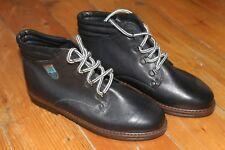 ECCO Life Leather Womens Black Walking Boots Size EU 39 UK 6 BRAND NEW No Box
