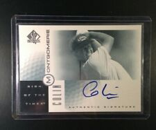 2001 Upper Deck SP Authentic Sign of The Times Colin Montgomerie CM