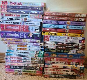 Huge Shojo Manga Lot 38 VOLUMES! Bundle Romance English Graphic Novels beat