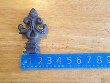 "Cast Iron Spear, Finial, Spire, Ornamental Fence Topper 3/4"" each 631"