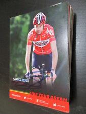 57657 sander armée cyclisme original signé autographe carte
