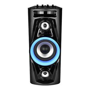 MEDION LIFE P67014 Party Soundsystem Bluetooth LC-Display Karaoke Akku UKW 18W
