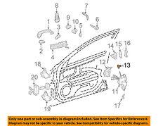 Mercedes MERCEDES-BENZ OEM 03-06 E500-Door Lock Knob Post Pin 11076005659B51