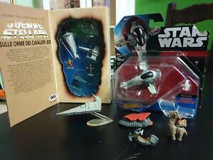 Lotto Star Wars Varie Micro Machines & Hot Wheels Slave 1
