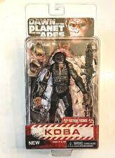 "KOBA Dawn of the Planet of the Apes NECA 7"" Bonobo Chimp Action Figure Sealed PK"