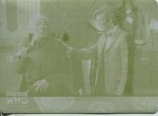 Doctor Who Timeless Yellow Printing Plate Base Card #76