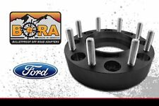 """Ford F-350 2.00"""" Dually Wheel Spacers 1999-2003 (2) by BORA - Made in the USA"""