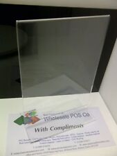 A5 PORTRAIT ACRYLIC MENU HOLDER TWO SIDED UPRIGHT COUNTER RETAIL TICKET DISPLAYS