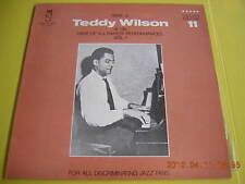 LP TEDDY WILSON HERE IS AT HIS RARE PERFORMANCE VOL.1