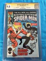 Spectacular Spider-Man #116 - CGC SS 9.8 NM/MT -Signed by David, Buckler, McLeod