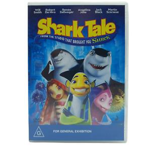 Shark Tale (DVD, Region 4, 2004)