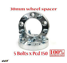 (2) Wheel Spacer Adapter Spacers Toyota LandCruiser 5X150 14X1.5 30mm 110MM