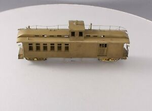 Lhee Do BRASS On3 Scale Drovers Caboose