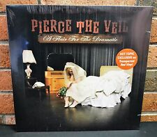 PIERCE THE VEIL - A Flair For The Dramatic, Limited TRANSPARENT RED VINYL New